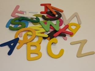 Buchstaben bunt