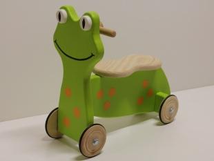 Kleinkinderroller Frosch